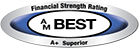 AM Best Certified A Excellent logo